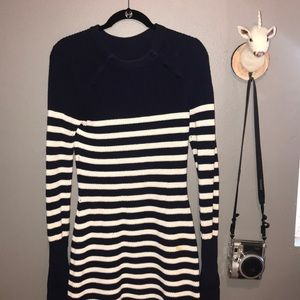 Sailor striped sweater dress from Revolve